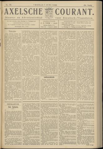 Axelsche Courant 1929-06-07