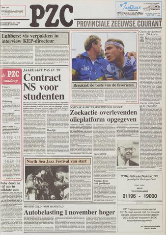 Provinciale Zeeuwse Courant 1988-07-09