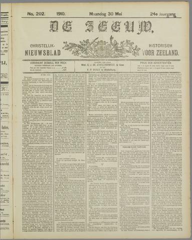 De Zeeuw. Christelijk-historisch nieuwsblad voor Zeeland 1910-05-30