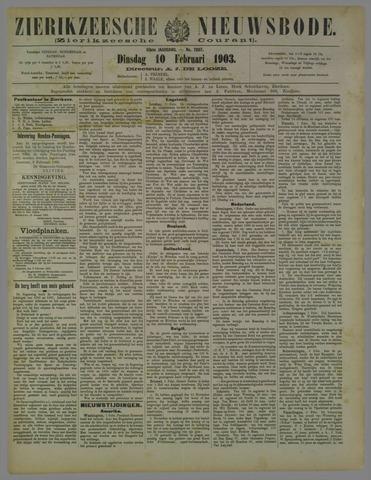 Zierikzeesche Nieuwsbode 1903-02-10