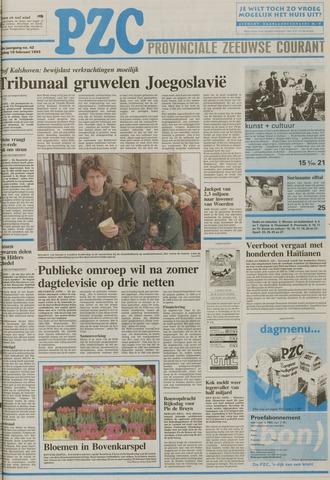 Provinciale Zeeuwse Courant 1993-02-19