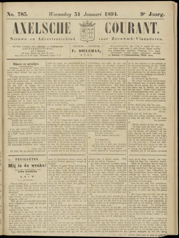 Axelsche Courant 1894-01-31