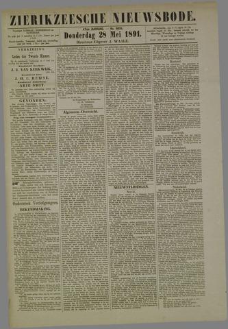 Zierikzeesche Nieuwsbode 1891-05-28