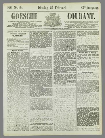 Goessche Courant 1896-02-25