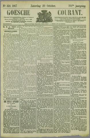 Goessche Courant 1917-10-20