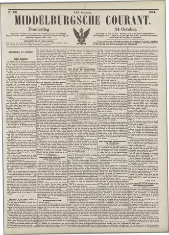 Middelburgsche Courant 1901-10-24