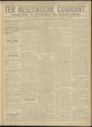 Ter Neuzensche Courant. Algemeen Nieuws- en Advertentieblad voor Zeeuwsch-Vlaanderen / Neuzensche Courant ... (idem) / (Algemeen) nieuws en advertentieblad voor Zeeuwsch-Vlaanderen 1927-03-18