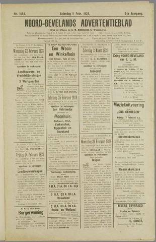 Noord-Bevelands Nieuws- en advertentieblad 1928-02-11