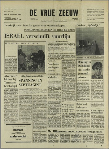 de Vrije Zeeuw 1970-01-09