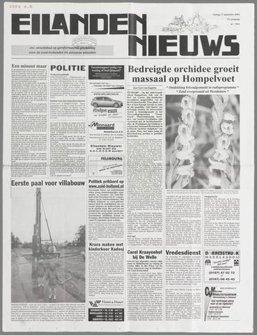 Eilanden-nieuws. Christelijk streekblad op gereformeerde grondslag 2004-09-17