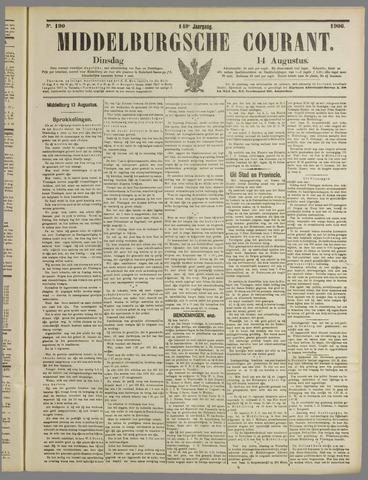Middelburgsche Courant 1906-08-14