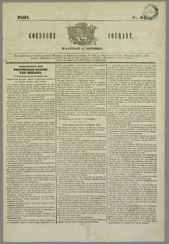 Goessche Courant 1850-11-25