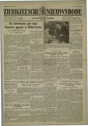 Zierikzeesche Nieuwsbode 1957