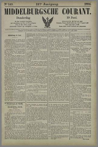 Middelburgsche Courant 1884-06-19