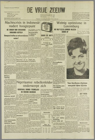 de Vrije Zeeuw 1966-01-19