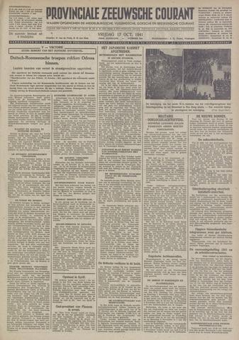 Provinciale Zeeuwse Courant 1941-10-17