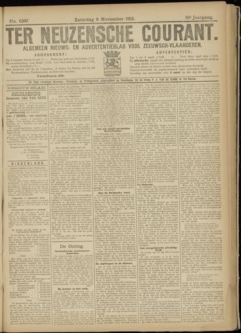 Ter Neuzensche Courant. Algemeen Nieuws- en Advertentieblad voor Zeeuwsch-Vlaanderen / Neuzensche Courant ... (idem) / (Algemeen) nieuws en advertentieblad voor Zeeuwsch-Vlaanderen 1915-11-06
