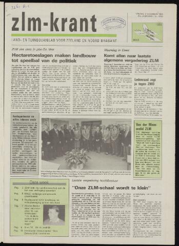Zeeuwsch landbouwblad ... ZLM land- en tuinbouwblad 1993-12-03