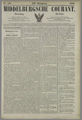 Middelburgsche Courant 1888-06-16