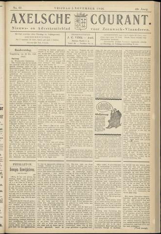 Axelsche Courant 1926-11-05