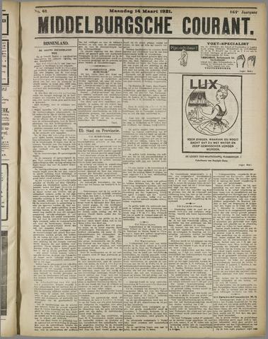 Middelburgsche Courant 1921-03-14