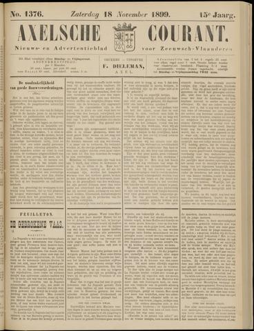 Axelsche Courant 1899-11-18
