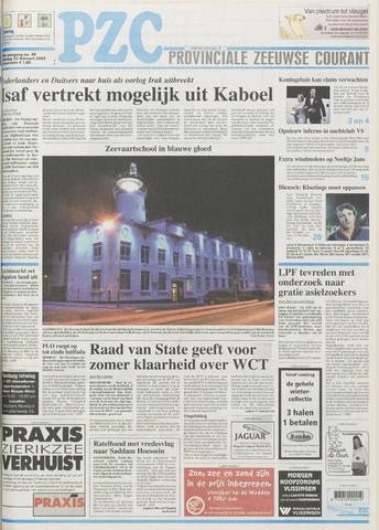 Provinciale Zeeuwse Courant 2003-02-22