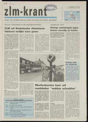 Zeeuwsch landbouwblad ... ZLM land- en tuinbouwblad 1993-07-09