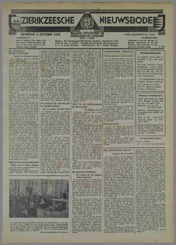 Zierikzeesche Nieuwsbode 1942-10-03