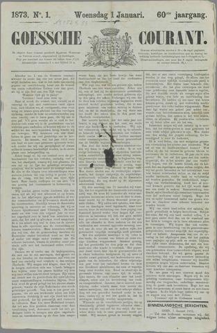 Goessche Courant 1873