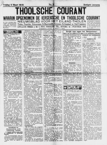 Ierseksche en Thoolsche Courant 1943-03-05