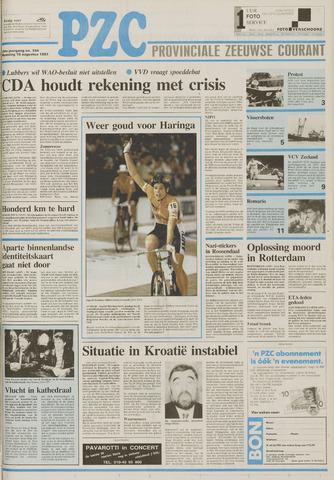 Provinciale Zeeuwse Courant 1991-08-19