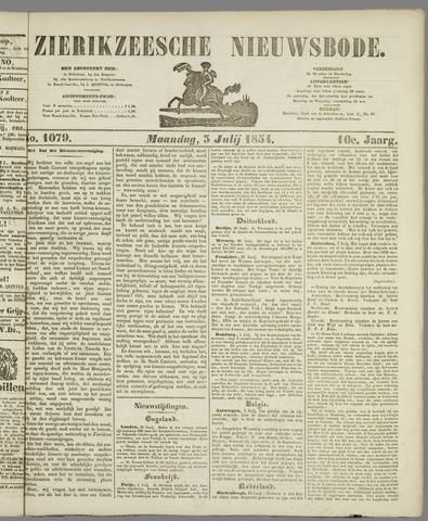 Zierikzeesche Nieuwsbode 1854-07-03