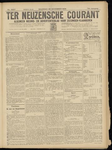 Ter Neuzensche Courant. Algemeen Nieuws- en Advertentieblad voor Zeeuwsch-Vlaanderen / Neuzensche Courant ... (idem) / (Algemeen) nieuws en advertentieblad voor Zeeuwsch-Vlaanderen 1934-11-26