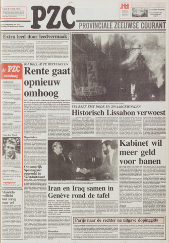 Provinciale Zeeuwse Courant 1988-08-26