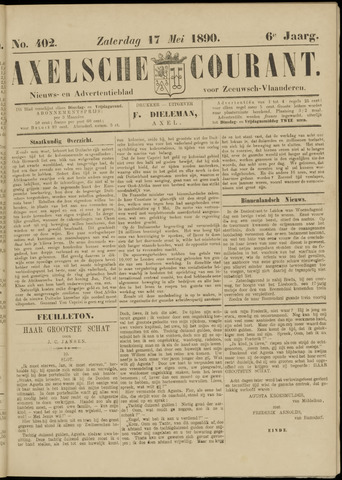 Axelsche Courant 1890-05-17
