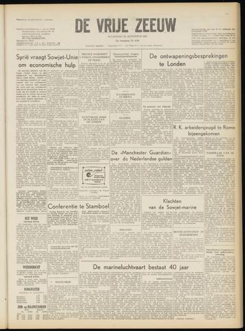 de Vrije Zeeuw 1957-08-26
