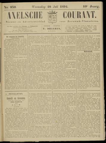 Axelsche Courant 1894-07-18