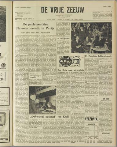 de Vrije Zeeuw 1961-11-14