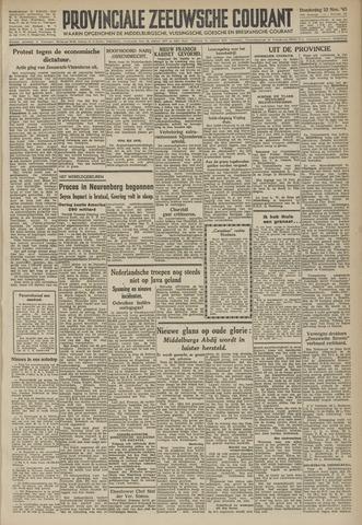 Provinciale Zeeuwse Courant 1945-11-22