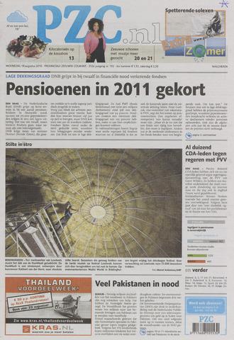 Provinciale Zeeuwse Courant 2010-08-18