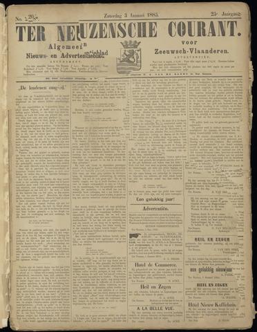 Ter Neuzensche Courant. Algemeen Nieuws- en Advertentieblad voor Zeeuwsch-Vlaanderen / Neuzensche Courant ... (idem) / (Algemeen) nieuws en advertentieblad voor Zeeuwsch-Vlaanderen 1885