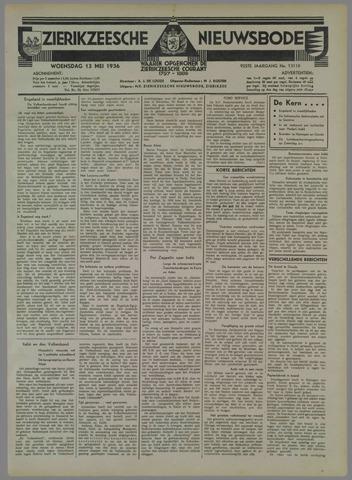 Zierikzeesche Nieuwsbode 1936-05-13