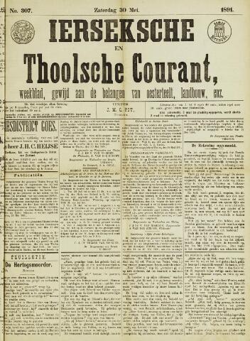 Ierseksche en Thoolsche Courant 1891-05-30