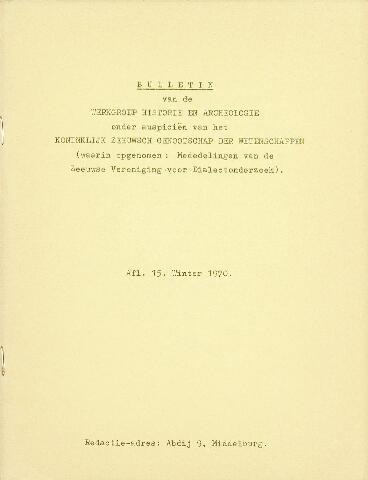 Nehalennia 1970-12-01