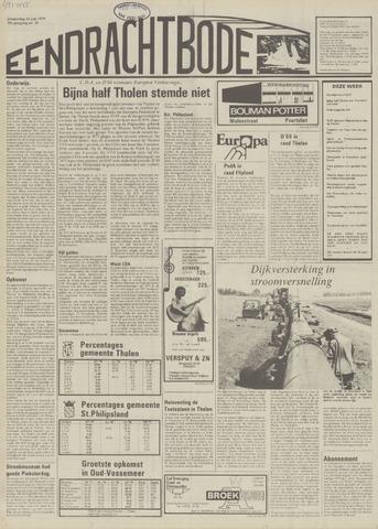 Eendrachtbode (1945-heden)/Mededeelingenblad voor het eiland Tholen (1944/45) 1979-06-14