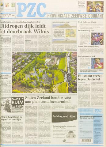 Provinciale Zeeuwse Courant 2003-08-27
