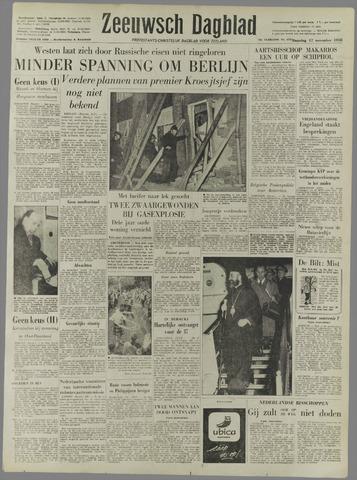 Zeeuwsch Dagblad 1958-11-17