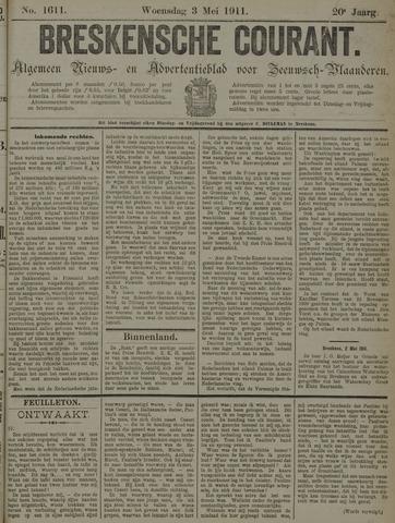 Breskensche Courant 1911-05-03