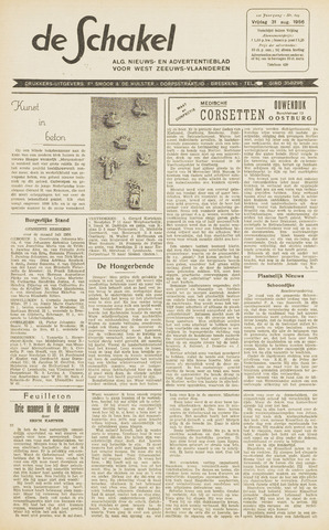 De Schakel 1956-08-31